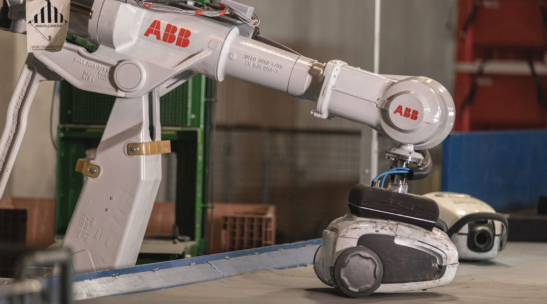 Robot technology is driving the recycling industry forward