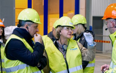 Investor companies visit Stena Nordic Recycling Center